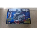 REVELL.VISIBLE V8 ENGINE SCALA 1/4