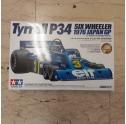 TAMIYA.20058 TYRREL P34 SIX WHEELER 1/20