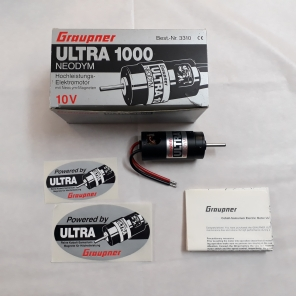 GRAUPNER.3310 MOTORE ELETTRICO ULTRA 1000 10 V
